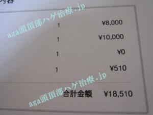 AGA治療の料金